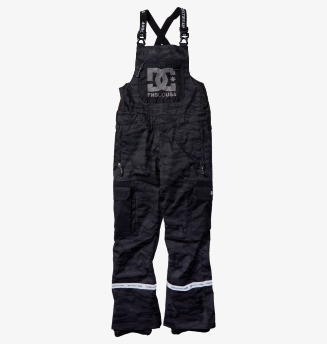 FNS Revival - Shell Snowboard Bib Pants for Men  EDYTP03053