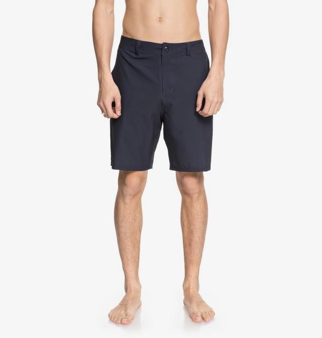"0 Base Camp 19"" - Amphibian Shorts for Men Blue EDYWS03097 DC Shoes"