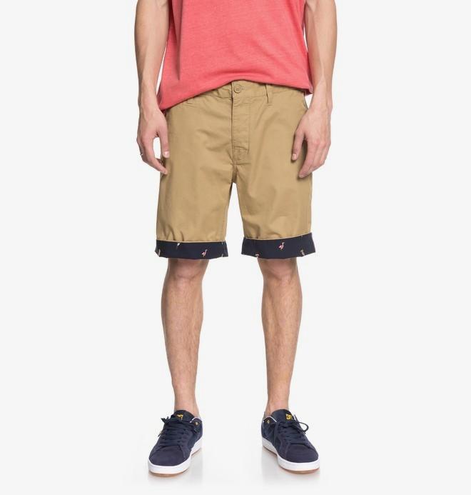 "0 Hidden Gem 19"" - Chino Shorts for Men Brown EDYWS03098 DC Shoes"