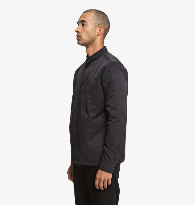 Back It - Long Sleeve Quilted Over Shirt for Men  EDYWT03205