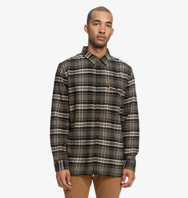 Marsha - Long Sleeve Flannel Shirt  EDYWT03207