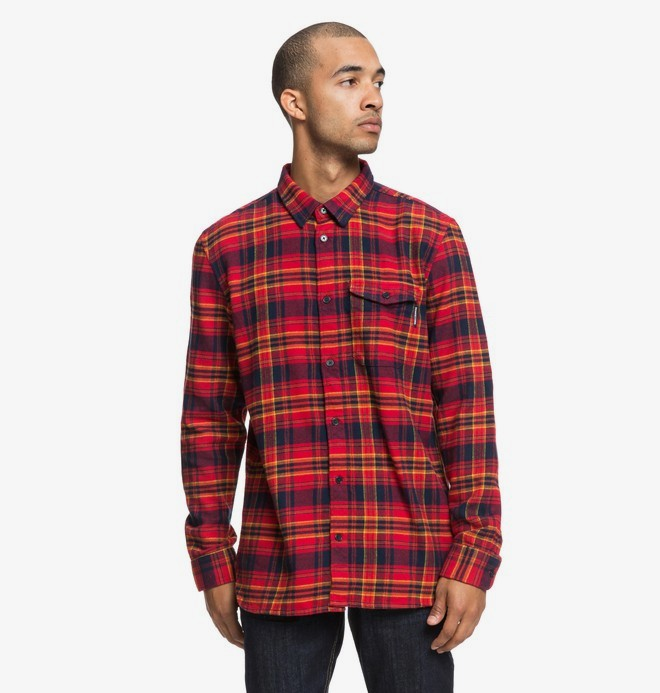 Marsha - Long Sleeve Flannel Shirt  EDYWT03207