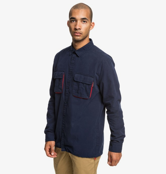 Just Vent - Long Sleeve Overshirt for Men  EDYWT03222