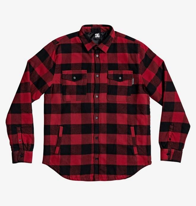 0 Landfilled - Camisa/Chaqueta de Manga Larga para Hombre Rojo EDYWT03233 DC Shoes