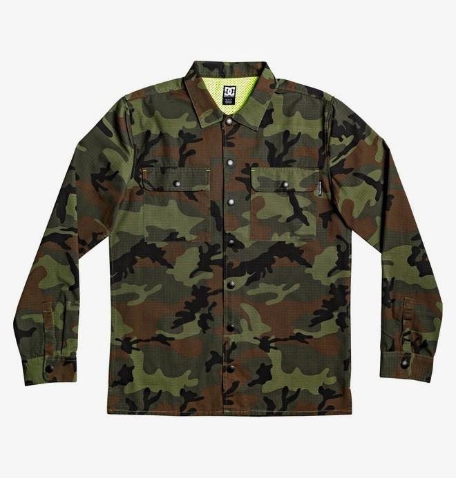 Mad Stopper - Long Sleeve Overshirt for Men  EDYWT03237