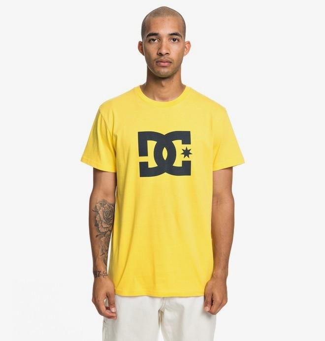 0 Star - T-Shirt for Men Yellow EDYZT03900 DC Shoes