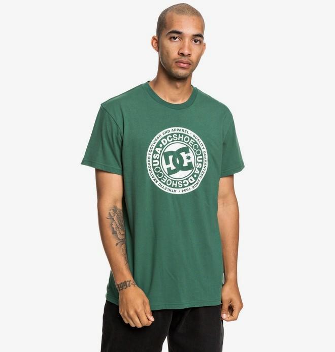 0 Circle Star - T-shirt pour Homme Vert EDYZT03901 DC Shoes