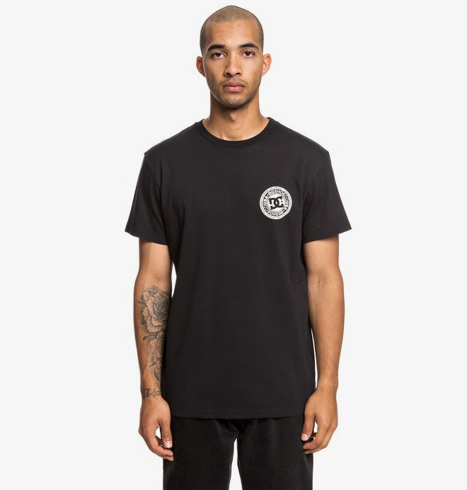 0 Circle Star - Camiseta para Hombre Negro EDYZT03903 DC Shoes