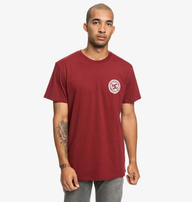 0 Circle Star - T-Shirt für Männer Rot EDYZT03903 DC Shoes