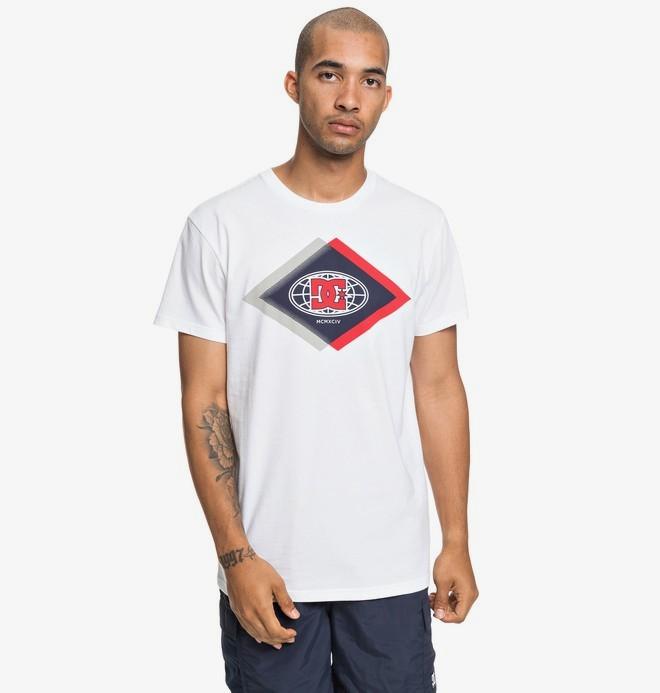 0 Co Defendant - T-shirt pour Homme Blanc EDYZT03910 DC Shoes