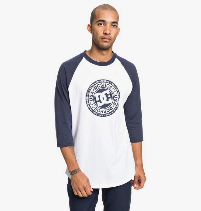 0 Research - T-shirt manches 3/4 pour Homme Bleu EDYZT03918 DC Shoes