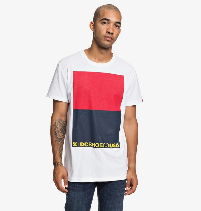 0 Double Part - T-shirt pour Homme Blanc EDYZT03920 DC Shoes