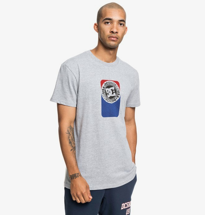 0 Petrol - T-shirt pour Homme Noir EDYZT03934 DC Shoes