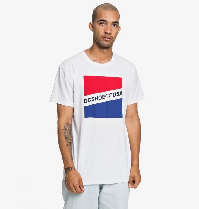 0 Slant - T-shirt pour Homme Blanc EDYZT03936 DC Shoes