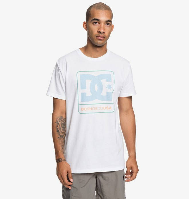 0 Cloudly - T-shirt pour Homme Blanc EDYZT03941 DC Shoes