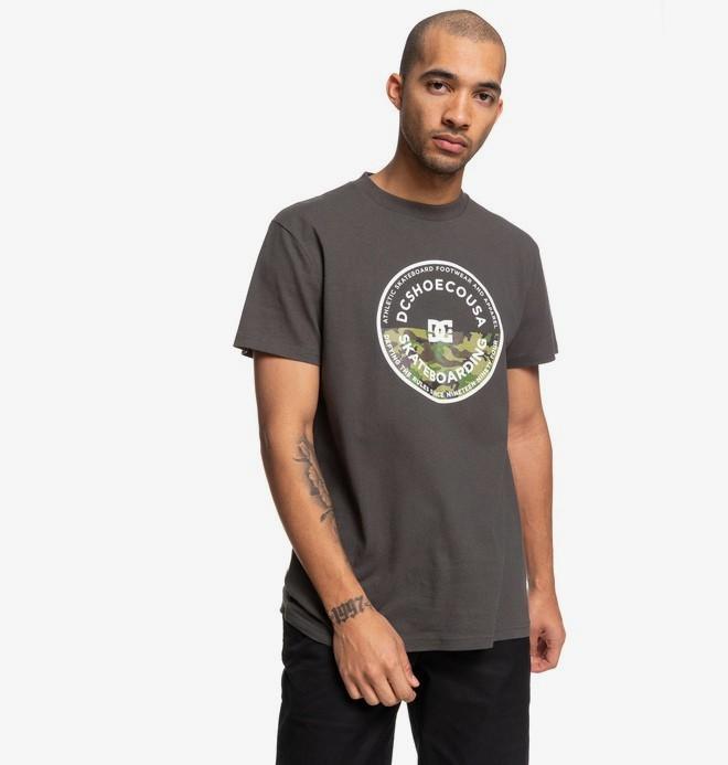 0 Big Jet - Camiseta para Hombre Negro EDYZT04054 DC Shoes