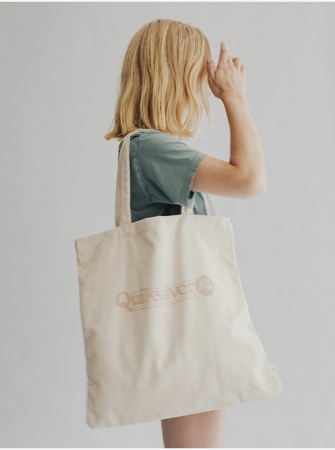 Quiksilver Womens Canvas Tote Bag