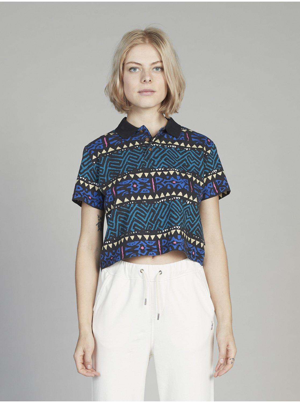 Quiksilver Womens Boxy Short Sleeve Polo Shirt For Women
