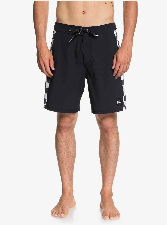 "Checker 18"" - Beach Shorts for Men  EQYBS04018"