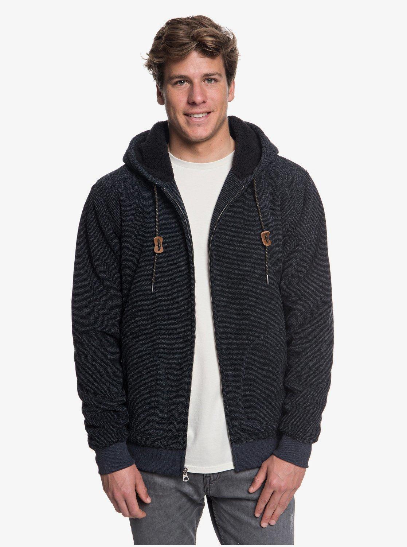 Keller Zip Up Polar Fleece Hoodie for Men