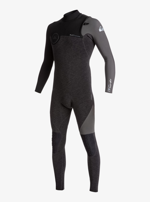 4/3mm Highline Series - Zipperless Wetsuit for Men EQYW103051