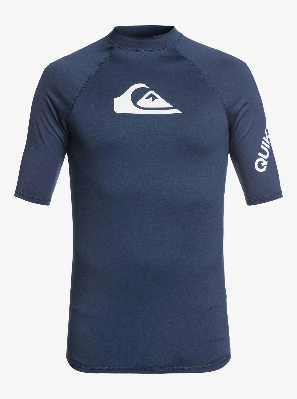 All Time Short Sleeve UPF 50 Rash Vest for Men