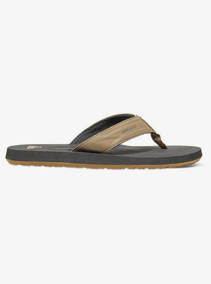 Tan Quiksilver Monkey Wrench Sandals