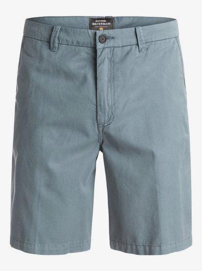 Blue 40 Quiksilver Waterman Mens Down Under 4 Walk Shorts
