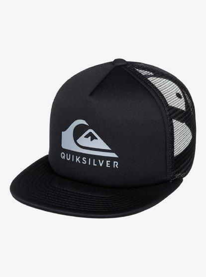 Quiksilver Foamslay Trucker Cap Mens Caps White