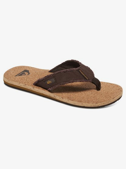 cork flip flops