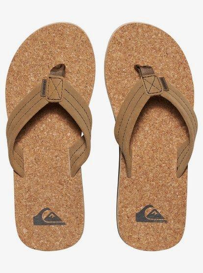 Carver Cork Suede Sandals for Men