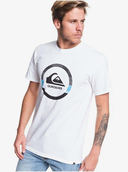 Hombre Quiksilver Snake Dreams T-Shirt Men Camiseta de Manga Corta