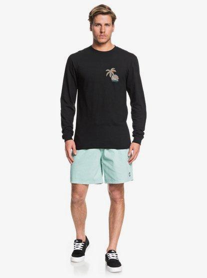 long sleeve t shirt and shorts