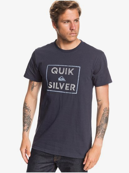 Quiksilver Mens Boxed Intent Tee