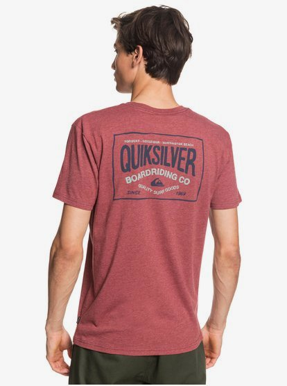RED L /& XL Quiksilver Mens Printed T Shirt NEW SIZES M