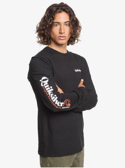 Long Sleeve T-Shirt for Men Long Sleeve T-Shirt Quiksilver Mens Check Yo Self