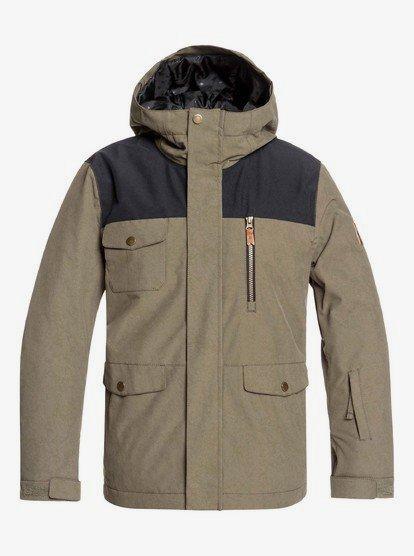 Quiksilver Boys Raft Youth 10k Snow Jacket