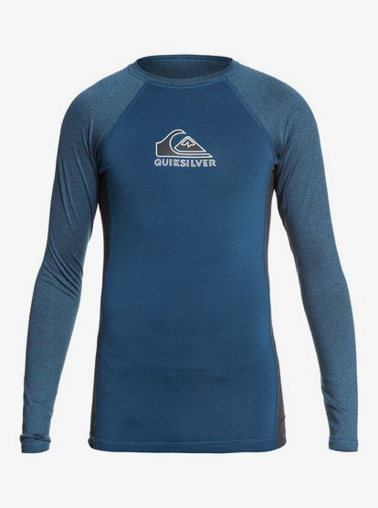 Quiksilver Boys Two Tone Long Sleeve Youth