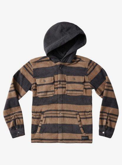 Dare 2b Childrens Ebullient Full Zip Hooded Marl Long Sleeve Fleece