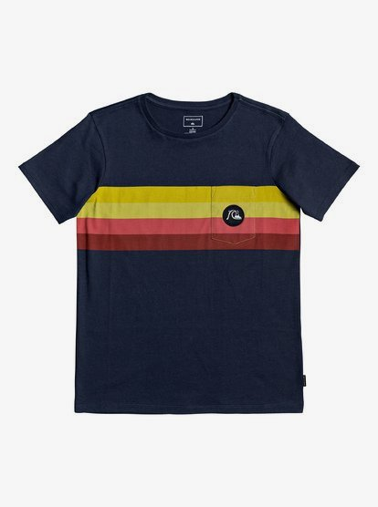 Quiksilver Boys/' Graphic T-Shirt Navy S