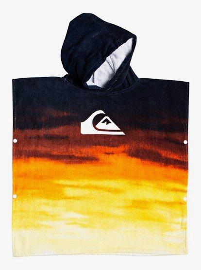 Quiksilver Kids Hoody Towel//Changing Robe Tiger Orange EQKAA03014