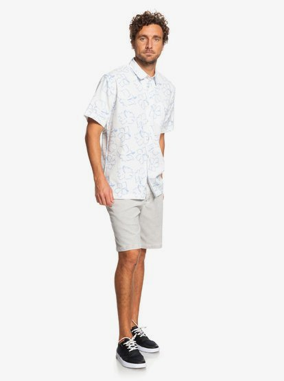 Quiksilver Mens Seasick Hilo Button Down Shirt