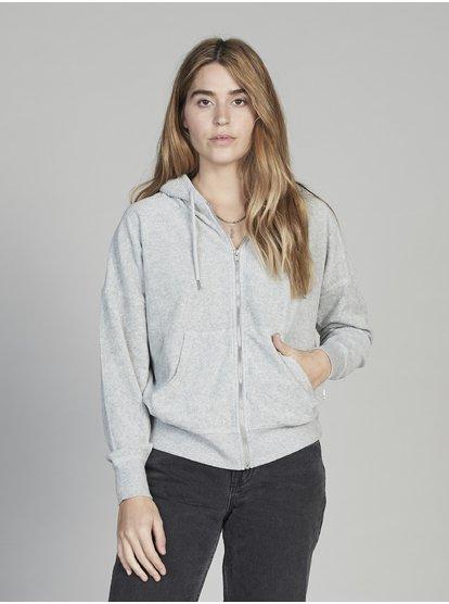Quiksilver Womens Sweat à capuche zippé pour Femme