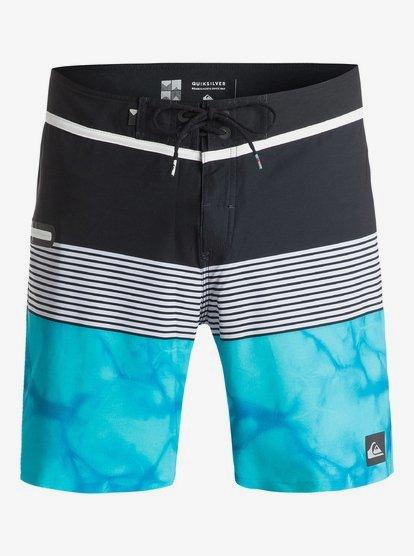 Quiksilver Mens Division Remix Vee Boardshort Swim Trunk