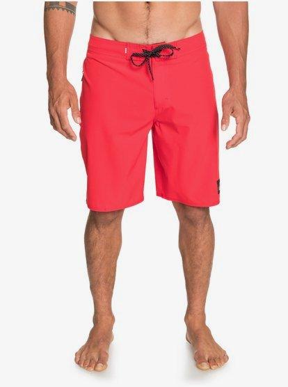 퀵실버 Quiksilver Highline Kaimana 20 Boardshorts 192504651847,HIGH RISK RED rqc0