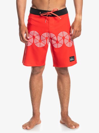 퀵실버 보드숏 수영복 Quiksilver Highlite Tokolo 19 Boardshorts 194476932955,PE - BRILLIANT RED wbb6
