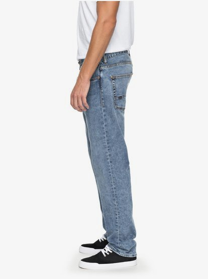Sequel 90 Summer Regular Fit Jeans For Men Eqydp03362 Quiksilver