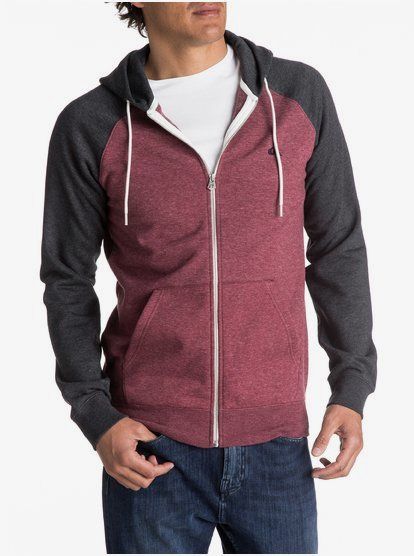 Quiksilver Mens Everyday Hood Fleece Top