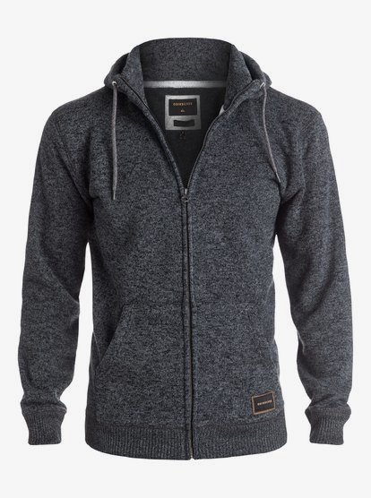 Details about  /Quiksilver Men/'s Keller Zip Fleece Choose SZ//color
