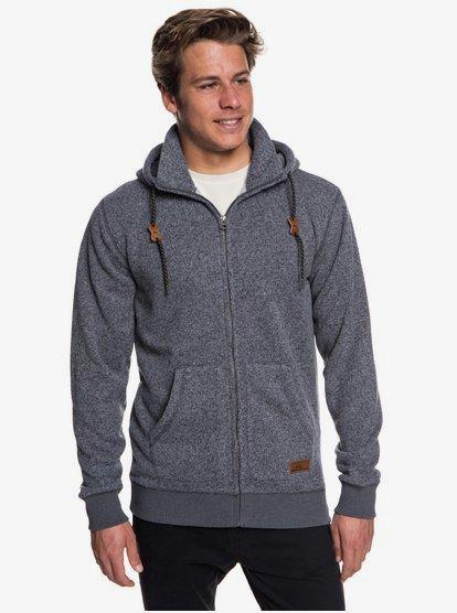 Keller Zip Up Polar Fleece Hoodie for Men EQYFT03835